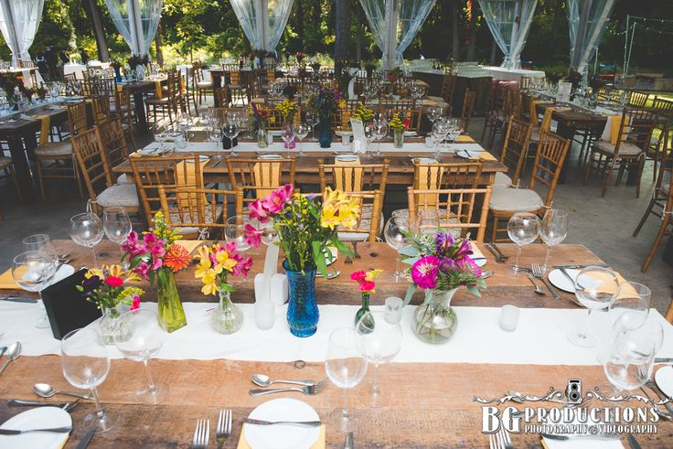 Anthony Wayne House - Wedding Venue. * I like small amounts of flowers in different vases.