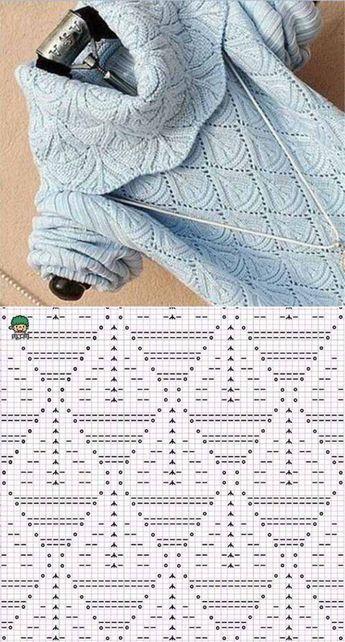 Красивый узор для пуловера | Искусница | вязание | Постила