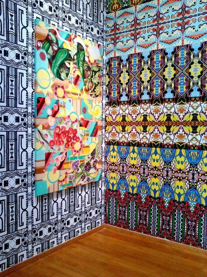 Installatie-HGM-met-schilderij-Osmosis-4-2002 Christie van der Haak