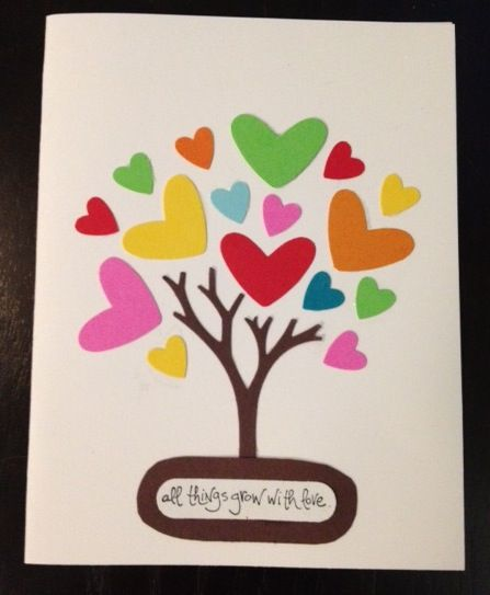 Heart Tree by 5partygirl - Cards and Paper Crafts at Splitcoaststampers