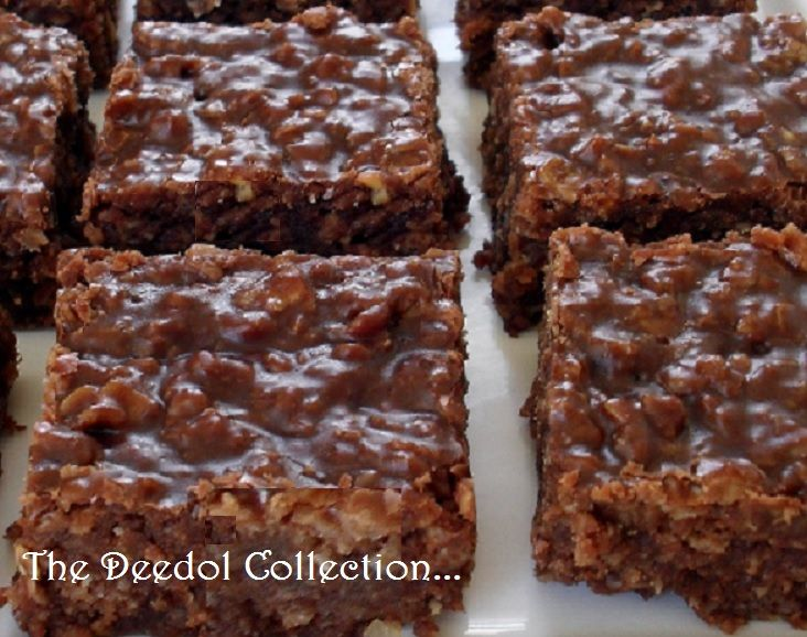 Granny's No Bake Bars.... https://grannysfavorites.wordpress.com/2016/03/12/grannys-no-bake-bars/