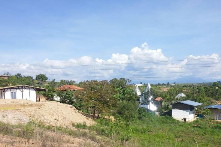 vista de la aldea