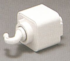 TRAC PENDANT ADAPTOR Pendant adapter for chin-hung fixture up to 35 lbs. with power feed. (Hook removes for cable-hung fixtures)  Regular price: $15.00  Sale price: $10.90