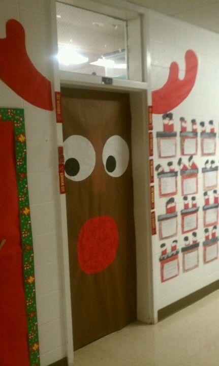 My Rudolph door :-)