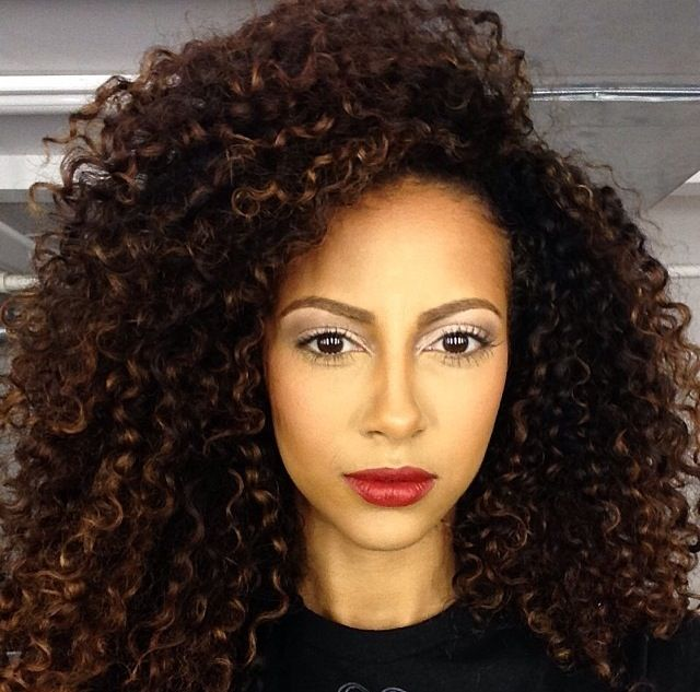 hairstyles for kinky curly hair : Curls, Hairstyle, Beautiful Hair, Natural Hair, Curly Girl, Hair Color ...
