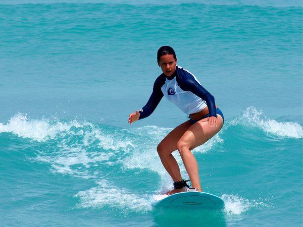 The ever sporty Jenna Wolfe surfing in the Caribbean. A great workout!: Beachy Girls, Life S, Sporty Jenna, Fitness Fun, Wolfe Surfing, Jenna Wolfeld, Workout