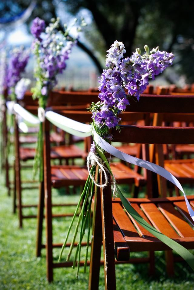 Flowers outdoor wedding ceremony aisle reception for Aisle decoration