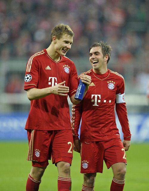 Holger Badstuber & Philipp Lahm
