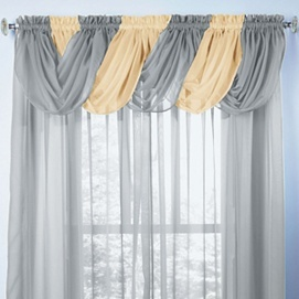 Best 25+ Scarf valance ideas on Pinterest | Window scarf, Curtain ...
