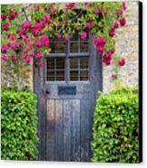 Cotswolds Door Canvas Print by Brian Jannsen
