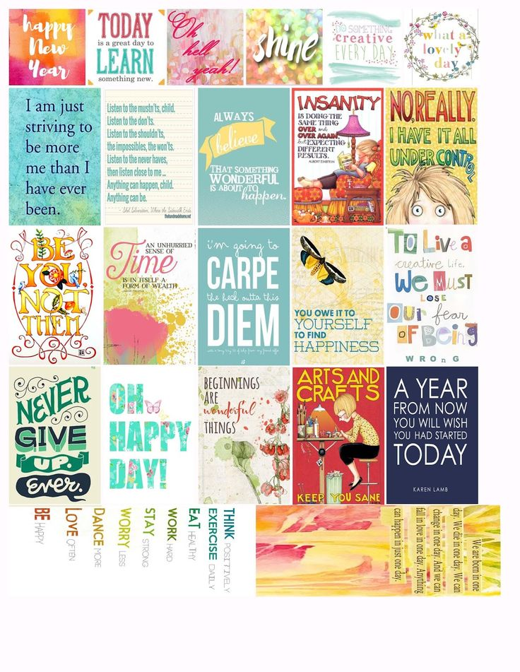 i love mini albums: 2016 New Year Freebie Stickers for Happy Planner