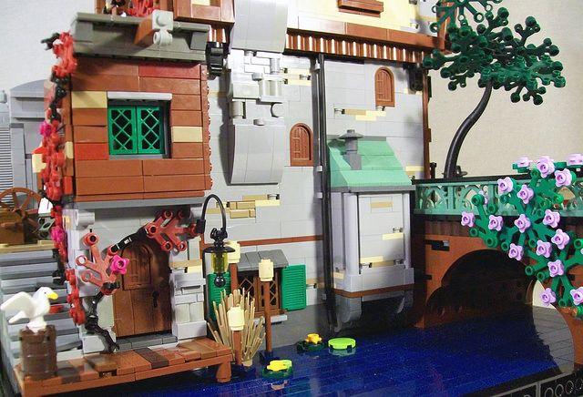 LEGO Green Grocer MOC by Bennemans1984 #Lego #LegoModular #LegoBuild #legobuilding #MOC #MOCs
