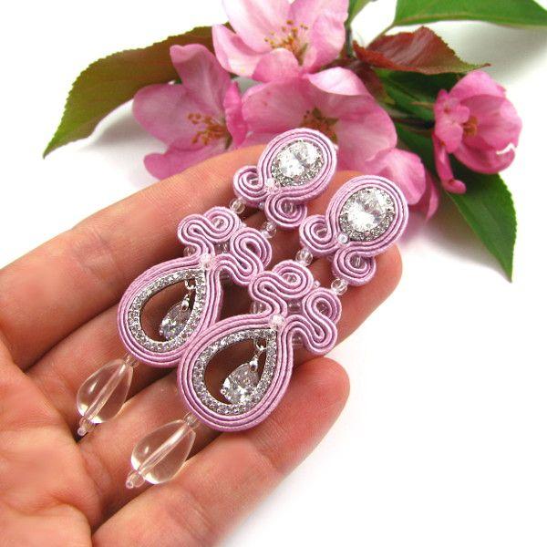 Sutasz ślubny z kryształami Novia Blanca