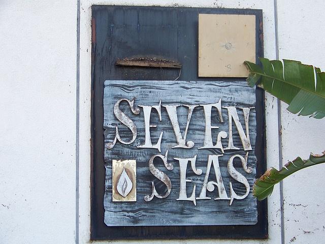 Seven Seas sign