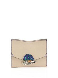 Proenza Schouler - Curl Small Leather Clutch