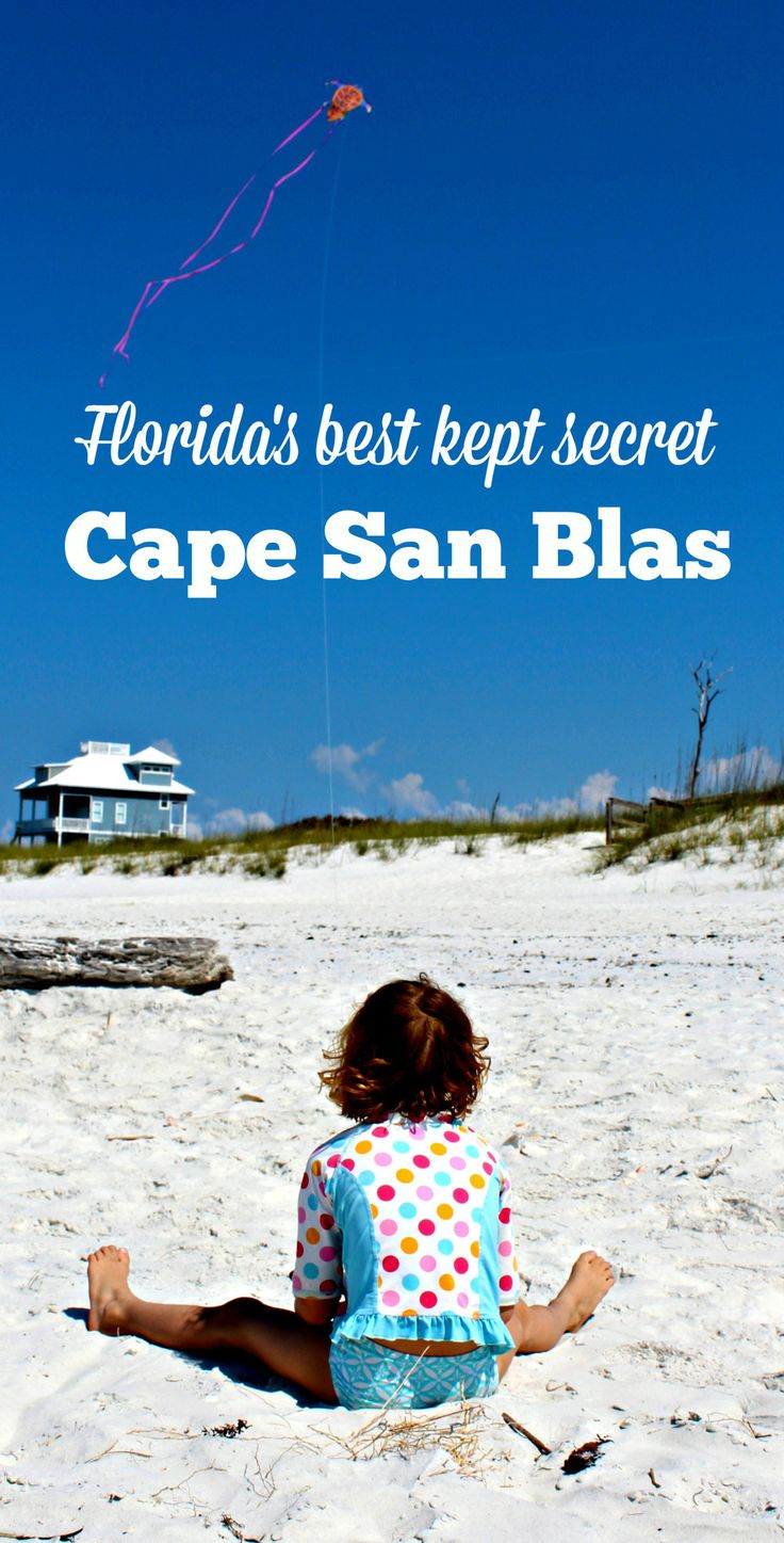 Looking for a family-friendly FL beach escape? Cape San Blas, Florida is one of our family vacation sweet spots along 30A.