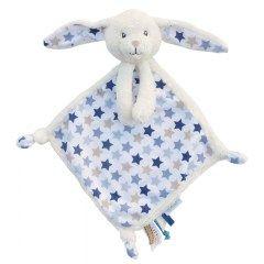 knuffeldoekje konijn mint | Babyspeelgoed