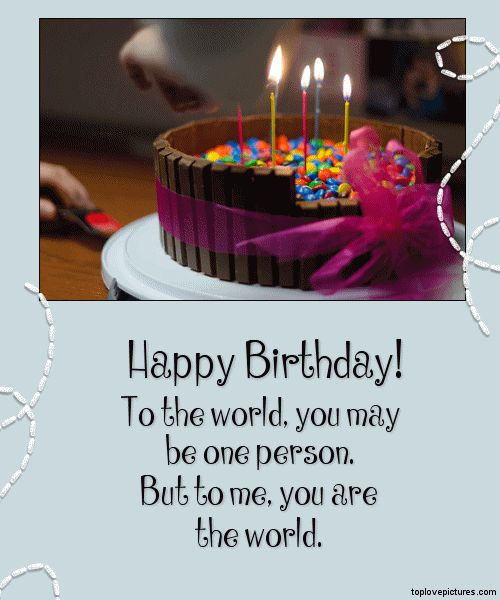 1000+ Ideas About Special Birthday Wishes On Pinterest