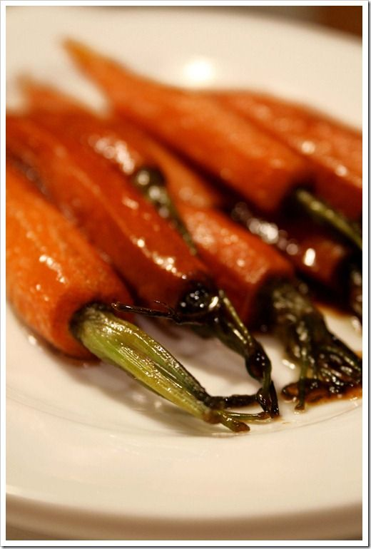 Cinnamon Gingered Baby Carrots ~ Doughmesstic