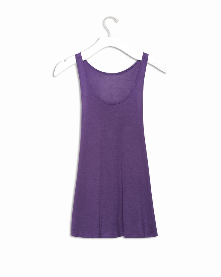 Danforth Tank in Purple - LOVE