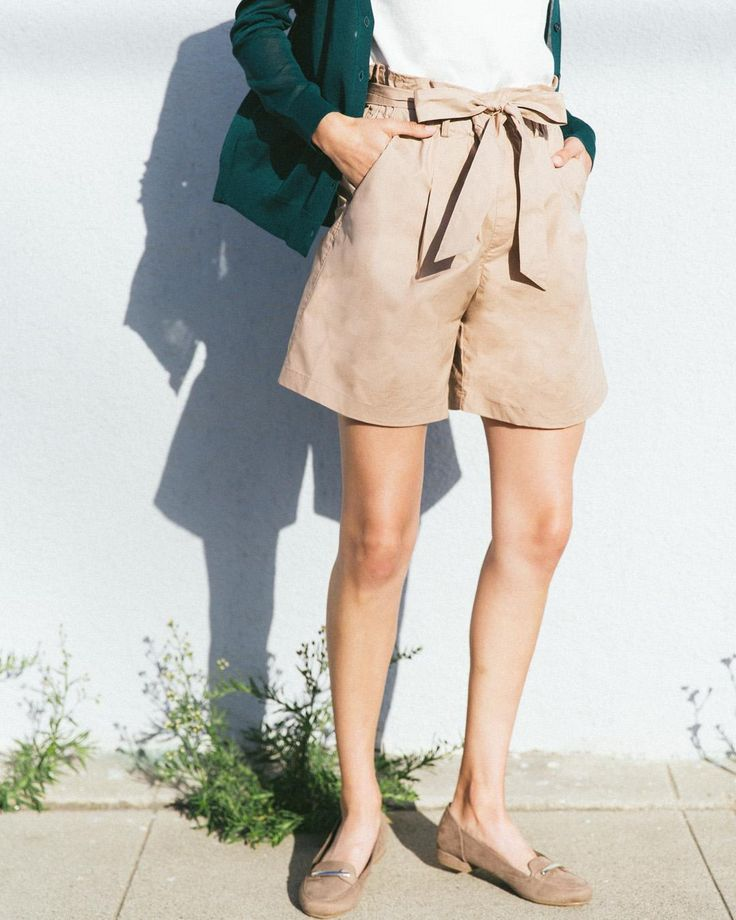 Elevate your summer style with our chic and comfortable High Rise Belted Shorts.