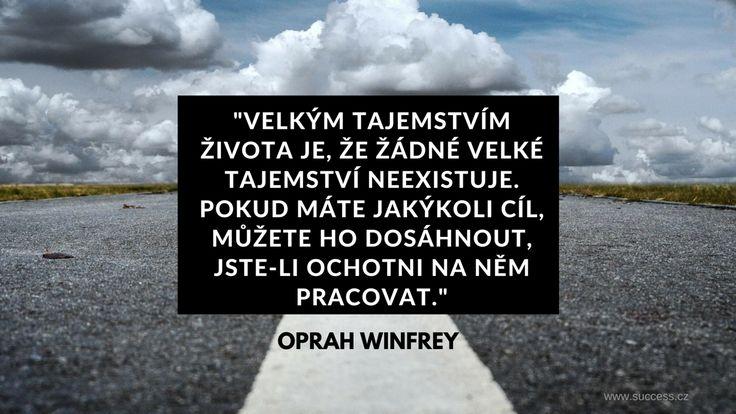 Tajemství života od Oprah Winfrey