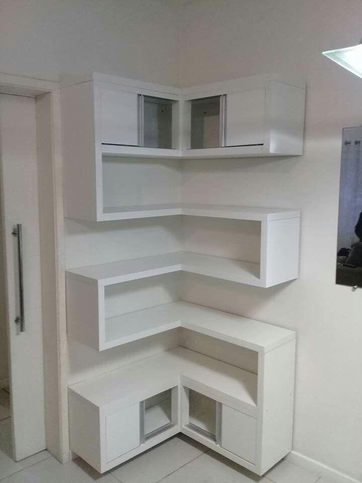 14 Sensational Design Of Diy Corner Shelves To Beautify Your Best
