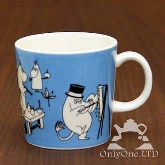 ARABIA Finland - Moomin /Moomin mug Painting/1990-1996 years