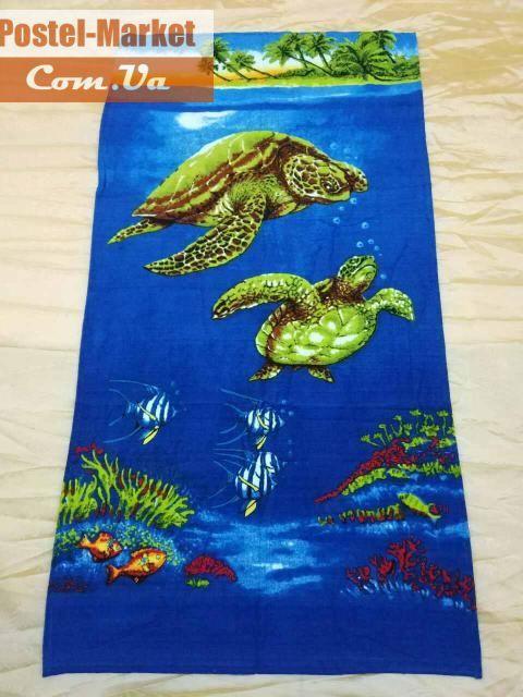 Полотенце пляжное Ocean. Купить в Украине (Постель Маркет, Киев)