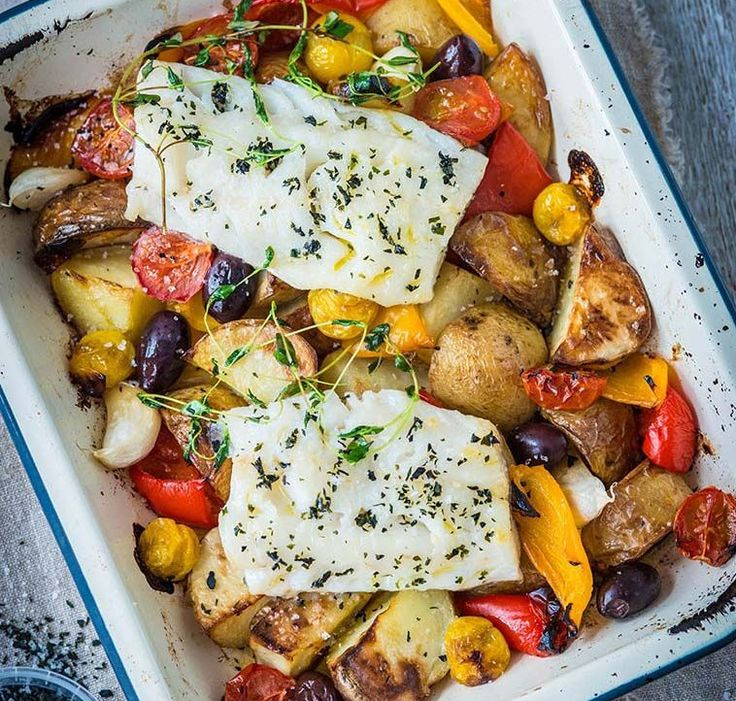 We've gathered 5 roasted cod recipes to inspire you - all of which would go great with the traditional roast dinner trimmings (minus the gravy)…