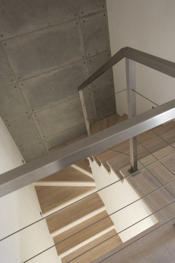 betonowa sciana przy schodach - Szukaj w Google