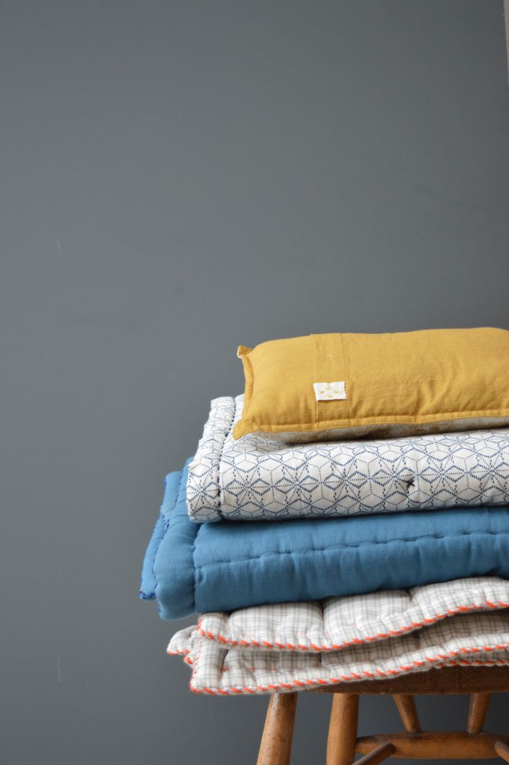 @camomilelondon  hand quilted blankets are perfect for any lazy sunday wraped up warm on the sofa.