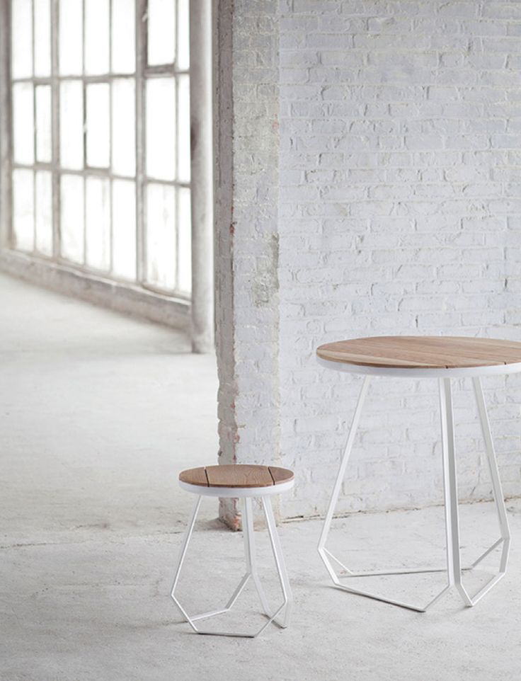 serax new collection for 2014 | sleek belgian design by studio simple | oak and white lacquered steel