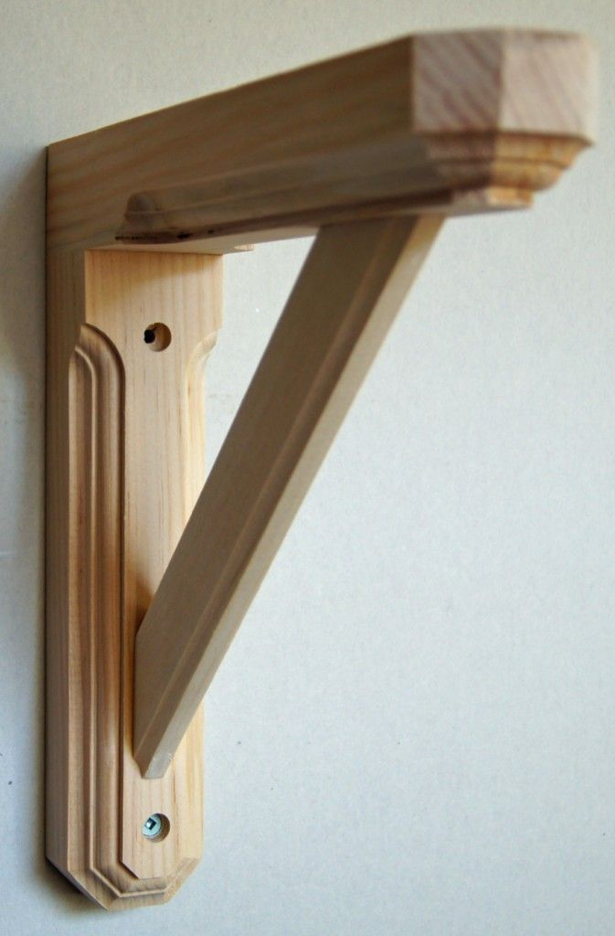 19 best images about shelving on pinterest diy wall for How to make wood shelves on wall