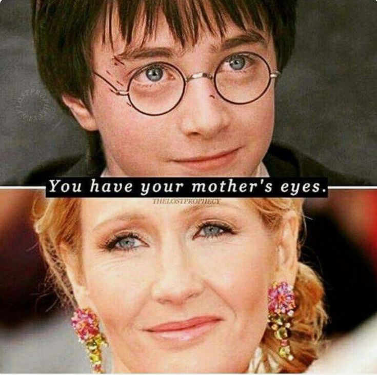 Everyone says in the movie their nothing alike but it's on purpose, he has the same eyes as Harry Potters real mother.