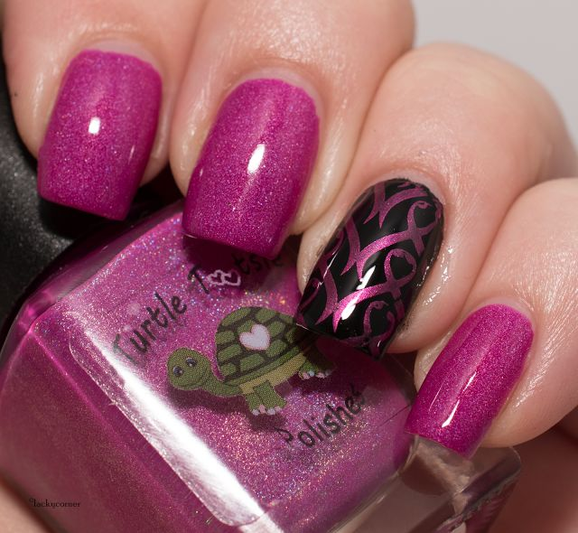 Lacky Corner: United In Pink - Turtle Tootsie Polishes Mugshot