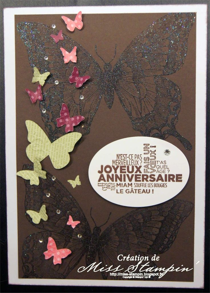 Stampin'Up! - Carte anniversaire