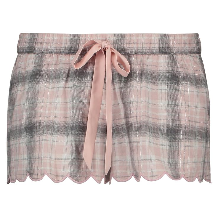 These pyjama shorts feature an attractive print and nicely finished leg openings: perfect for chilling out.