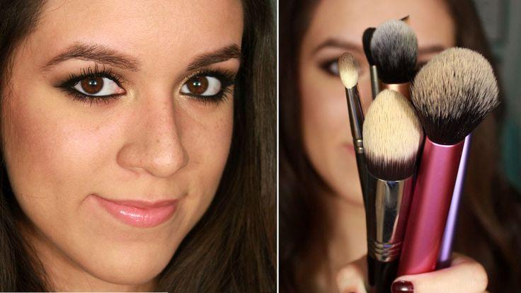 Brochas favoritas y mini tutorial - Real Techniques, Ecotools, MAC, CALA   Ruboradero. Favorite makeup brushes