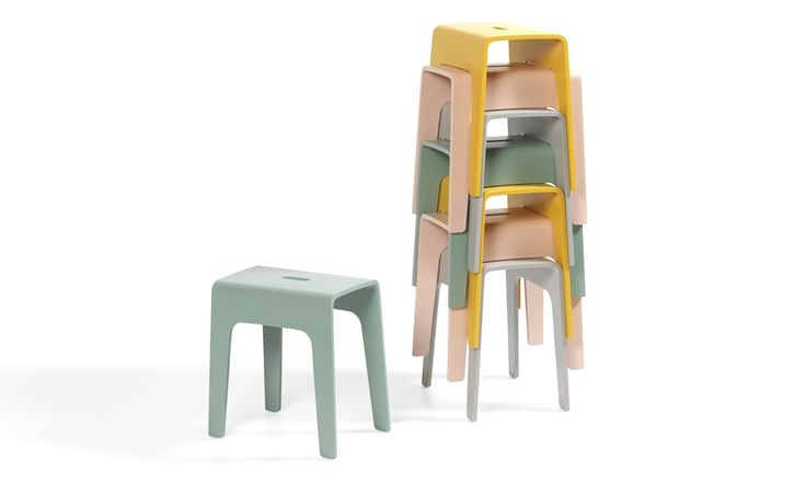 Bimbo stools by Peter Brandt for Bla Station