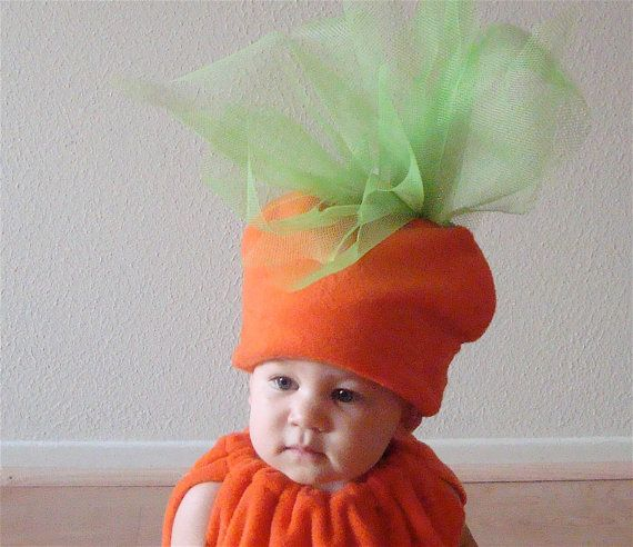 Kids Costume  Halloween Costume Carrot Costume by TheCostumeCafe