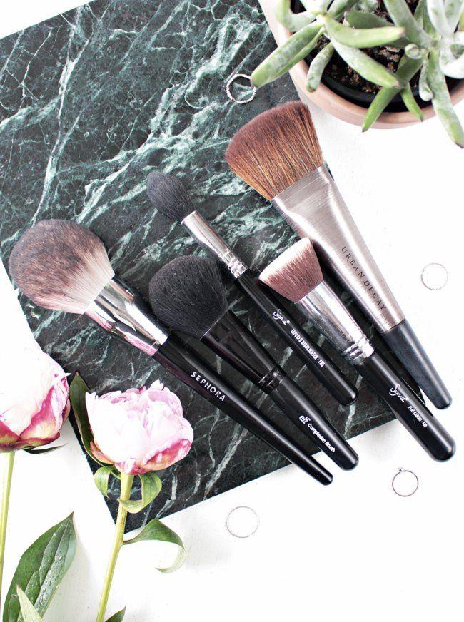 5 uundværlige børster til ansigtet fra Urban Decay, ELF, Sephora og Sigma