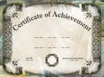 Download Free Certificate and Award Templates
