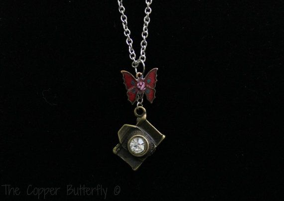 Fatal Frame 2 Crimson Butterfly Inspired by CopperButterflyGifts, $23.99