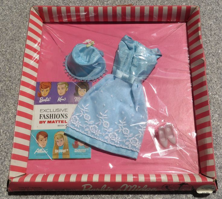 Barbie Vintage Clothes Reception Line 1654 from 1964 New SEALED NR   eBay