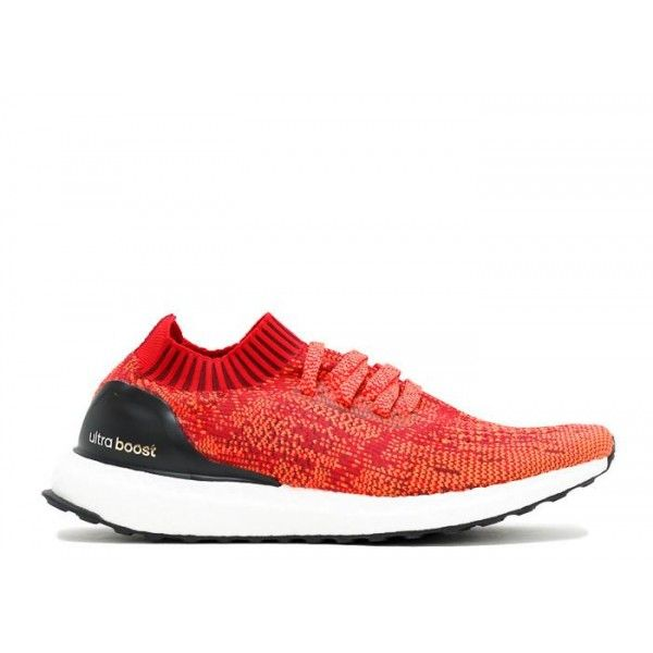 b288b004748fd ... mens authentic authentic adidas ultra boost scarlet solar red black  originals uncaged ...