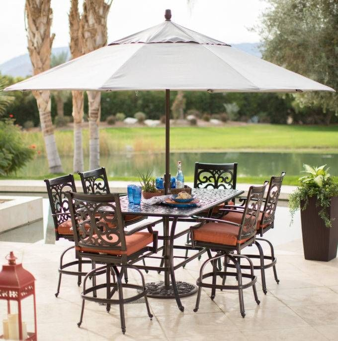 Patio Furniture With Umbrella Home Depot Target Outdoor Furniture Patio Patio Umbrella