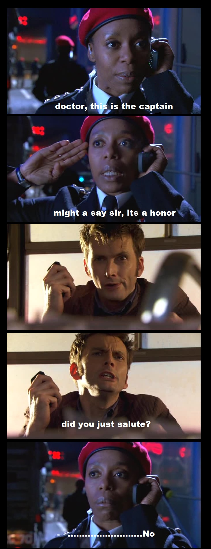 LOL! i love the humor on Dr. Who