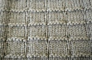 Square Knitting Pattern