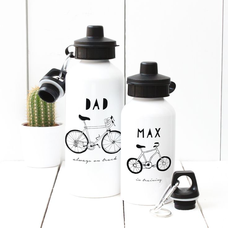 A Piece Of - Personalised 'Hand Drawn In Training' Water bottle, £13.50, sport, gym, birthday, child, dad, mum, fathers' day, mothers' day, christening, baby shower, bottle, water, drink, present, party, gift, (http://www.apieceof.co.uk/personalised-hand-drawn-in-training-water-bottle/)